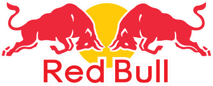 Red Bull logo for brand marketing email