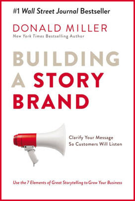 Donald Miller book for brand story post