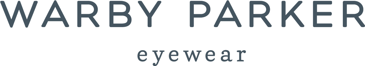 Warby Parker Eyewear logo for brand story post